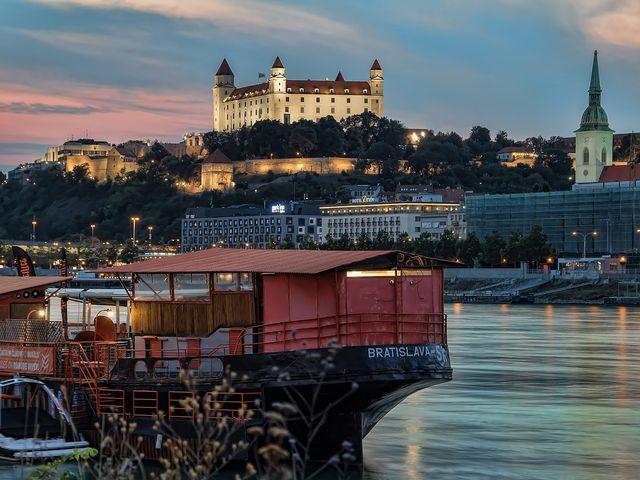 Bratislava Danube Old town