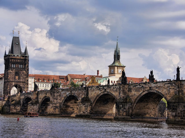 The Charles Bridge in Prague