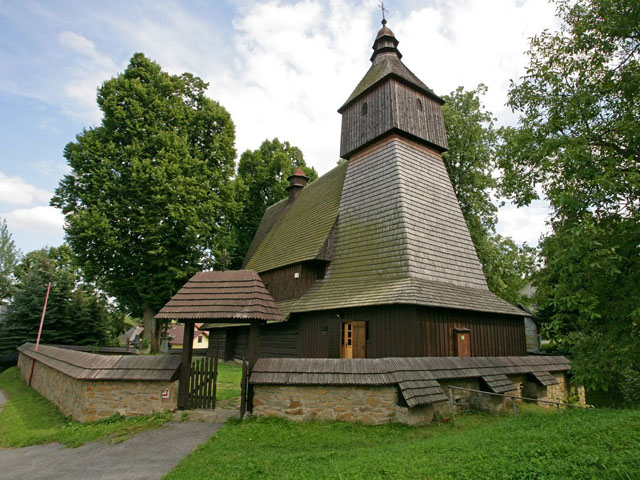 The Church of St. Francis of Assisi in Hervartov UNESCO heritage