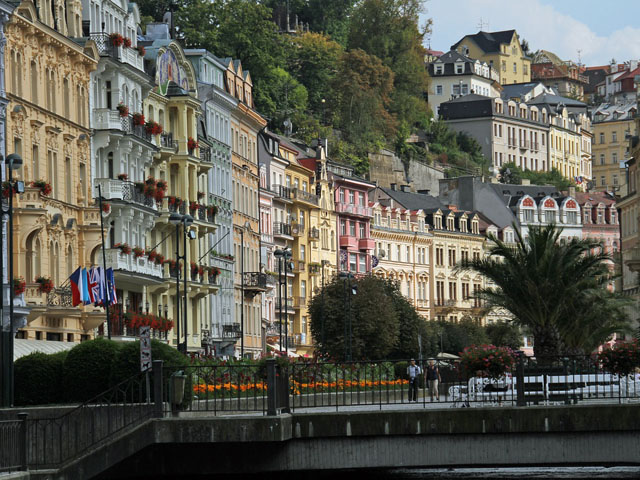 Karlovy Vary (Carlsbad) - Historical spa buildings