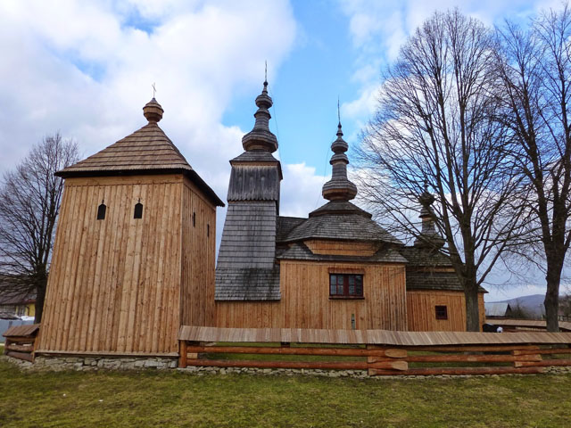 The Church of Archangel Michael in Ladomirova UNESCO heritage