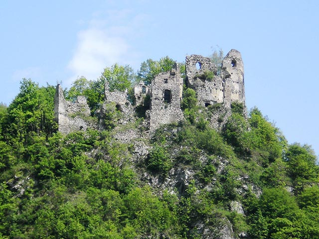 Strecno Old Castle