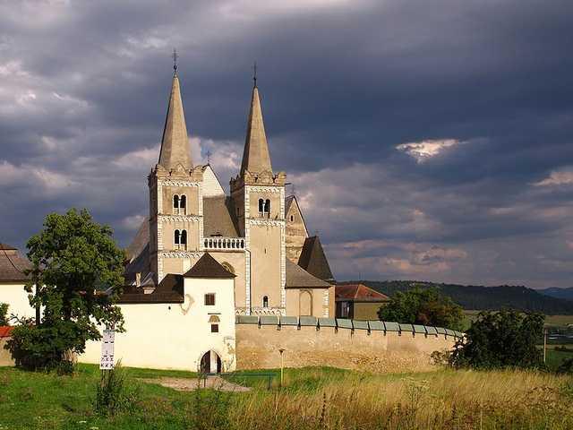 Spiska kapitula medieval monastery