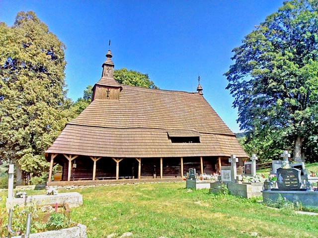 Topola wooden church