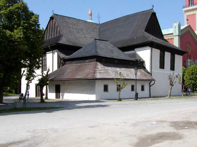 The Articled  Protestant Church of Holy Trinity in Kezmarok UNESCO heritage