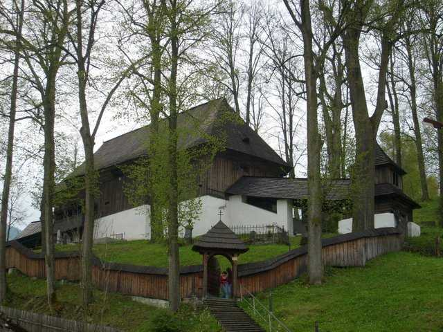 Articled Protestant Church in Lestiny UNESCO heritage