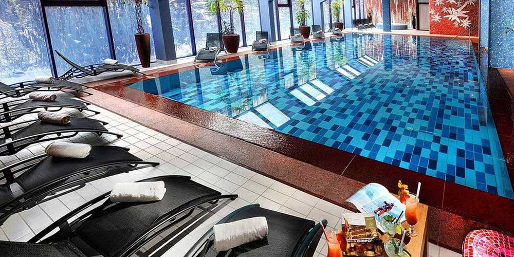 Plesnivec pool - Oтель Хопок / Hotel Chopok
