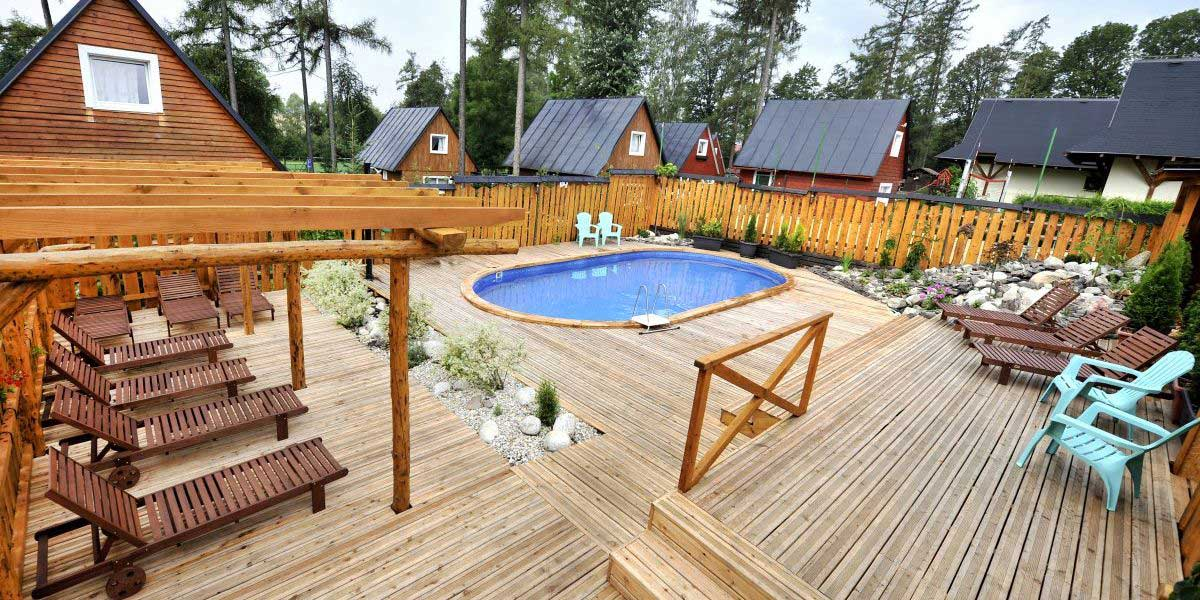 Pool - APLEND Houses Tatry Holiday