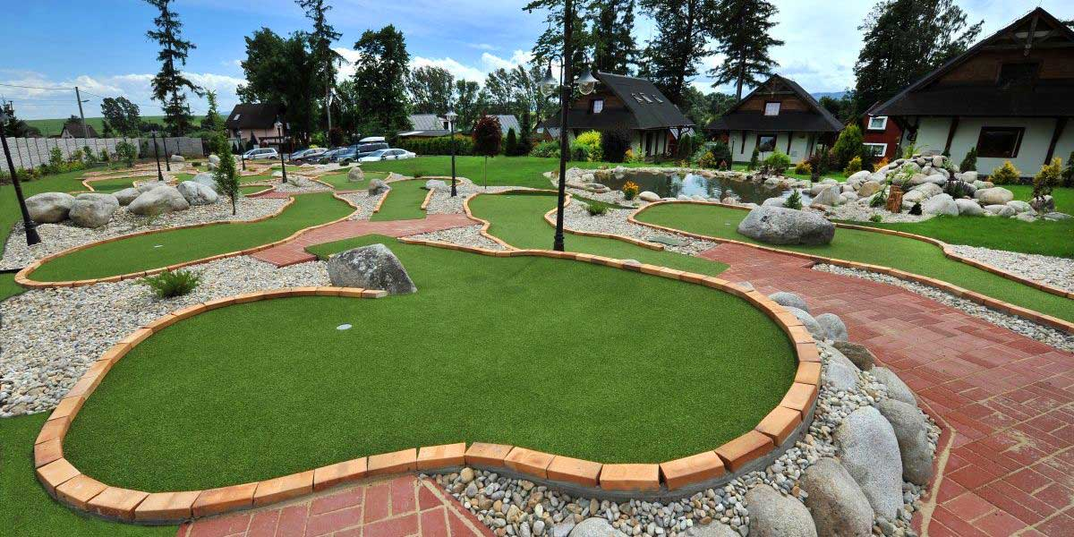Golf Area - APLEND Houses Tatry Holiday