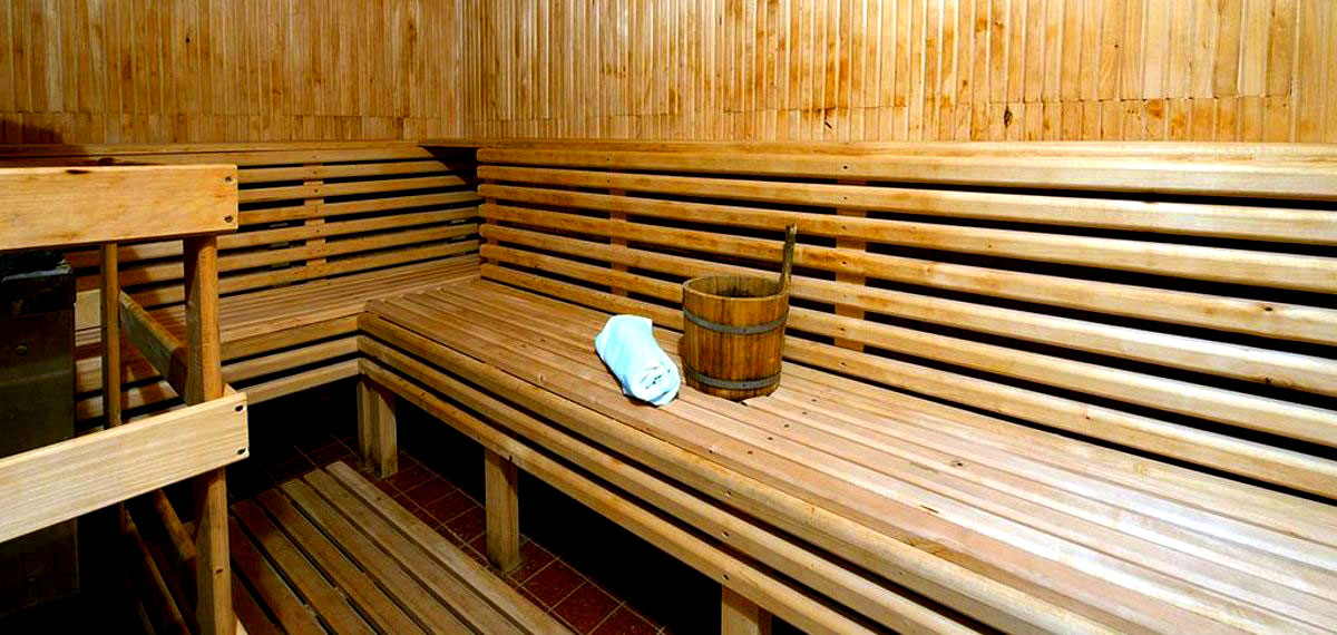 Sauna - Hotel Sorea Marmot