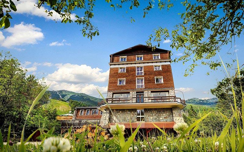 Hotel Srdiecko, Jasna