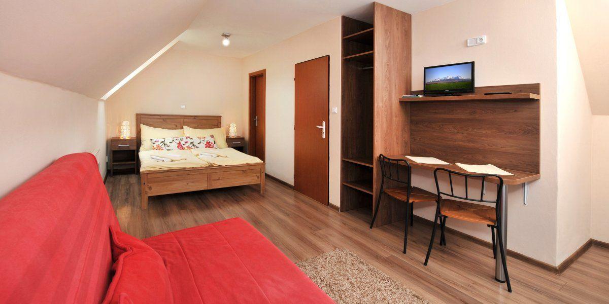 Double bed - APLEND Villa Studios