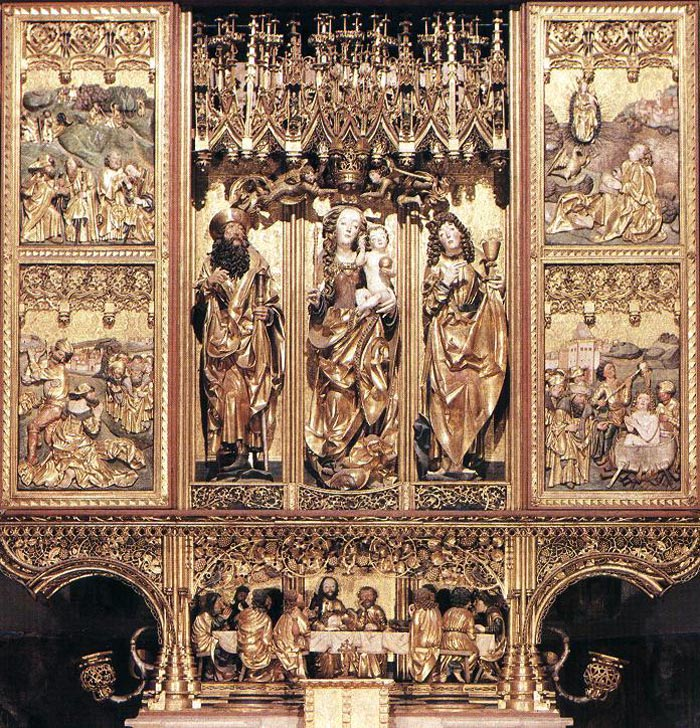 Altar of master Paul in Levoca