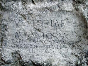 Roman Writing Trencin