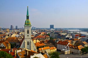 Top 5 sights of Bratislava city