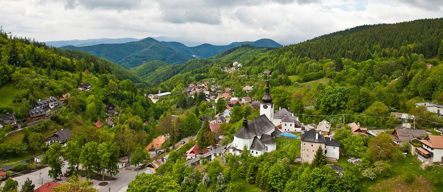 Geopark Banska Bystrica - Spania Dolina