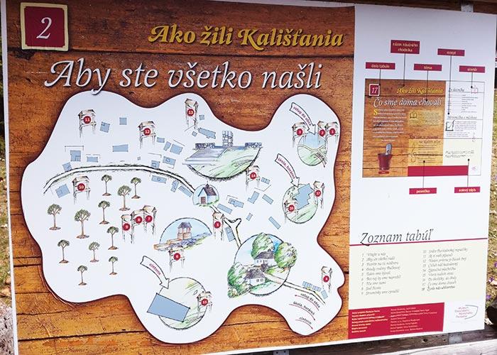 Kaliste Map