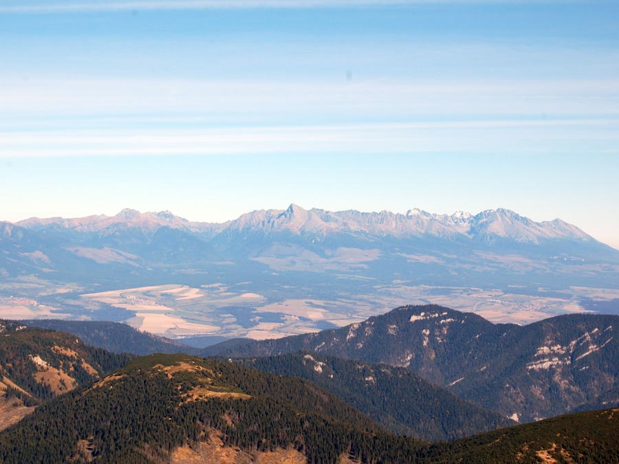 High Tatras - View from Chopok