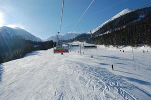 Skiing Low Tatras Slovakia