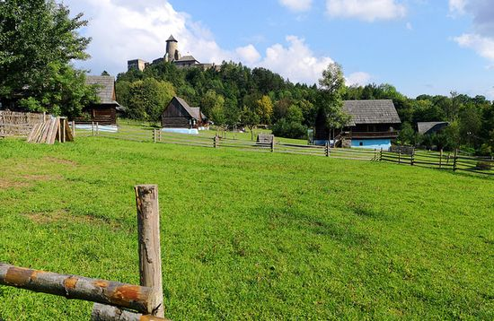 Stara Lubovna Open Air Museum and Castle