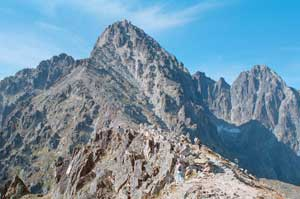 Lomnicky Peak Trekking Tour  with Mountain Guide