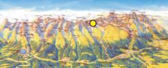 Map of Bradavica Peak Trekking Tour with Mountain Guide