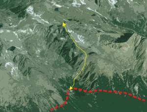 Bradavica Peak Trekking Tour with Mountain Guide
