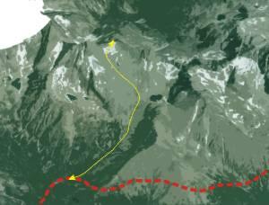 Ganek Peak Trekking Tour  with Mountain Guide