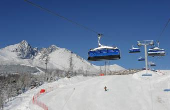 Cableways High Tatras ski resort