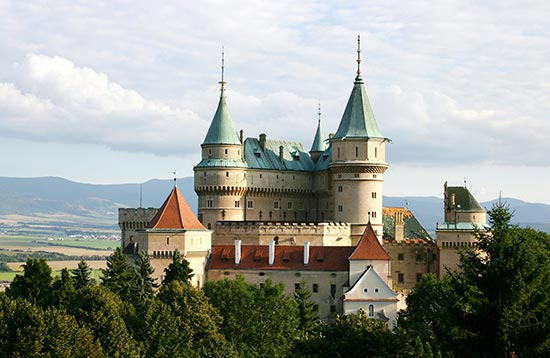 Castles of Central Slovakia