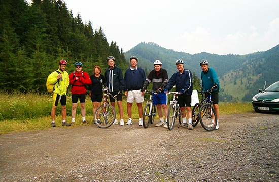 Tailor-made Cycling Tours & Holidays in Central Europe and Slovakia, Slovakia Travel, Location