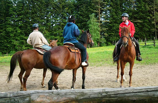 Horseback Riding with Day Trips in the High Tatras
