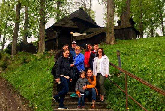 Tour of Wooden Churches