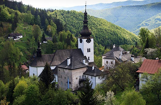 Walking Tour in Central Slovakia Mountains