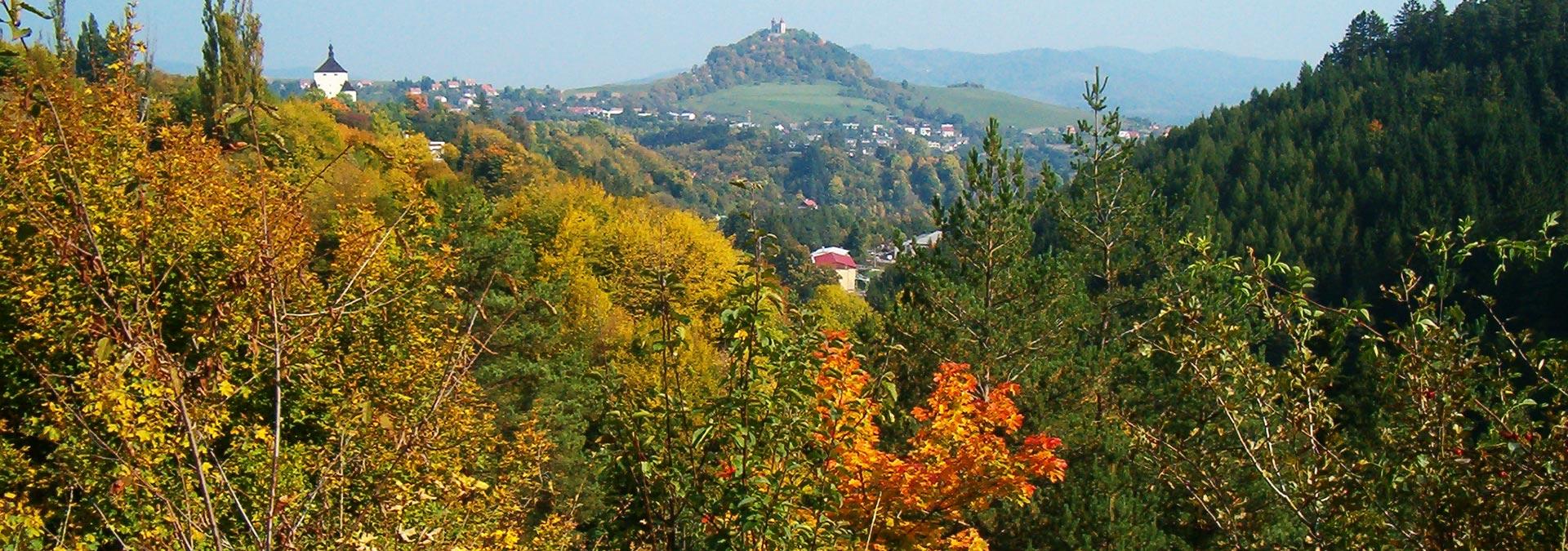Walking Holidays in Banska Stiavnica UNESCO Heritage, Slovakia Travel, Location