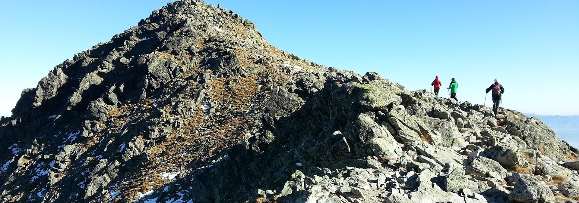 The Trek Hut to Hut Tour across Slovak Largest Mountain Range, the High Tatras, Slovakia Travel, Location