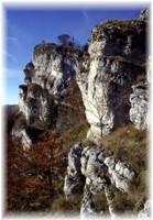 Kletterareal im Schroffen Drevenik