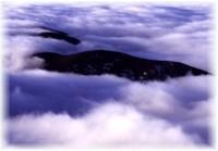 Mer de nuage dans les Basses Tatras