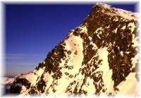 Krivan Spitze im Winter