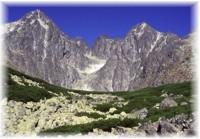 Lomnicky Spitze in Hohe Tatra