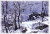 Winter in Stiavnica Berge