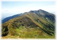 Niedere Tatra - Chopok Spitz