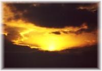 Sonnenuntergang im Hohe Tatra