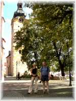 Banska Bystrica - Church in the Centrum