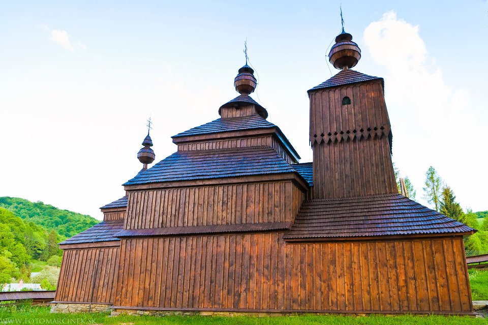Hervartov - wooden church