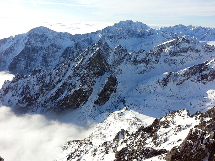 Slavkovsky Gerlachovsky Peaks