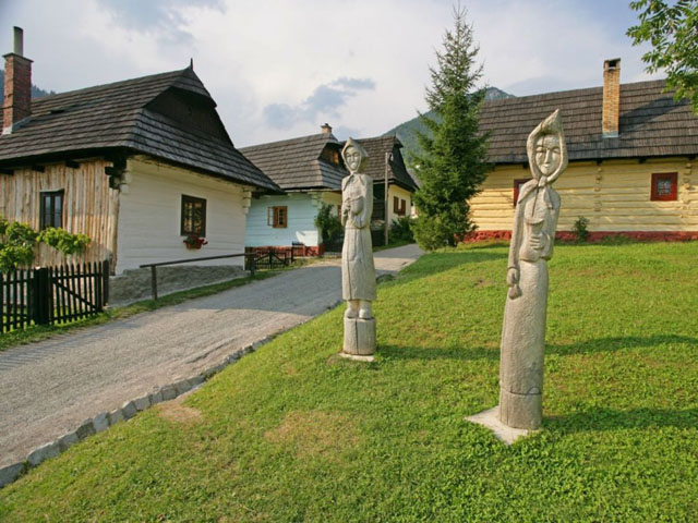 Vlkolinec Monument Reserve of Folk Architecture