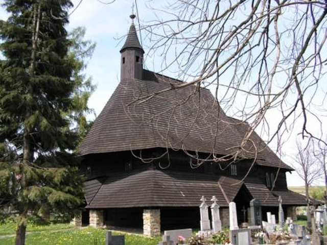 The Church of All Saints in Tvrdosin UNESCO heritage