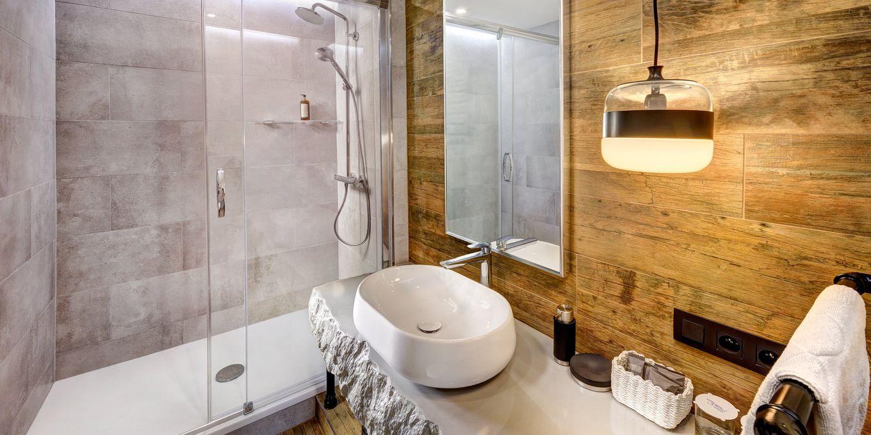 Suite bathroom - Grand Hotel