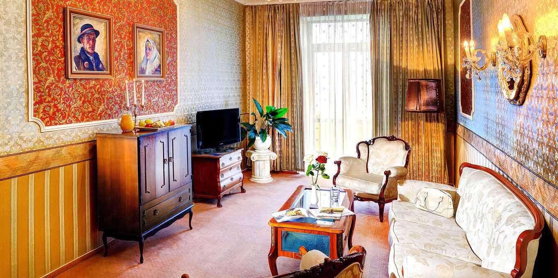 Classic suite - Grandhotel Praha